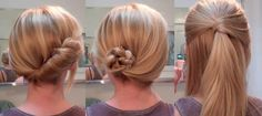 Cute hairstyles for work