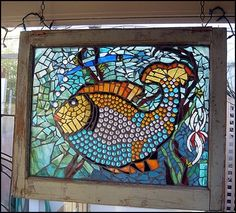Glass mosaic by zelma