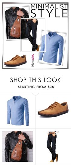 """""""NEWCHIC 45.//"""" by mersy-123 ❤ liked on Polyvore featuring Ekphero, men's fashion and menswear"""