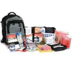 Premium 2-Person Disaster Bug Out Bag