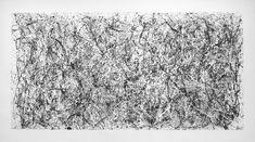 Pollock No 31 Drawing Chris Shaw Hughes Shag Rug, My Arts, Rugs, Drawings, Home Decor, Shaggy Rug, Farmhouse Rugs, Decoration Home, Room Decor
