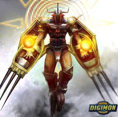 Digimon: Wargreymon by LindseyWArt.deviantart.com on @DeviantArt