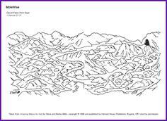 David Flees from Saul (Maze) - Kids Korner - BibleWise. This link actually works!