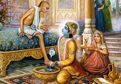 Story of two best friends.  Sudhama was a poor Brahmin from the town of Porbandar in Gujarat and Krishna from Dwarka. They were very good childhood friends, who lost contact overtime as Sudhama returned to his town. Read on....  Happy Friendship Day