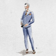 Menswear illustration