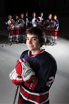 For many hockey players, the team is family. For Dylan Stevens, 17, his hockey…
