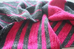 Ravelry: -kikki-'s Foolproof Knitting Ideas, Baby Knitting Patterns, How To Purl Knit, Knitted Shawls, Shawls And Wraps, Ravelry, Sewing Projects, Fabrics, Stripes
