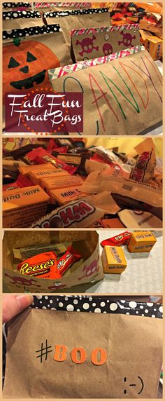 Fall Fun Treat Bags