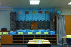 I am posting some of my favorite boards I created this year. As my first year as a teacher and being a late hire, I had to create things qui. Class Decoration, School Decorations, School Themes, School Fun, Castle Decorations, Castle Theme Classroom, Classroom Themes, Literacy Display, Classroom Displays