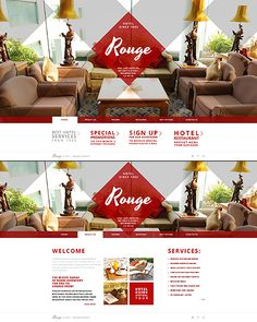 #JavaScript website theme for #Hotel business. $67 NOT Flash! Will display on your mobile devices.