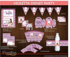 Violetta Disney Printable Party by Tempodifesta on Etsy, €11.00 °violetttakitimprimible