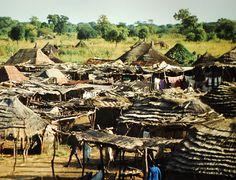 Huts outside Wau