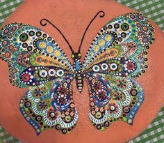 Mandala Painted Rocks, Bangles, Bracelets, Jewelry, Fashion, Moda, Jewlery, Jewerly, Fashion Styles