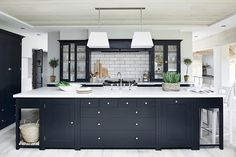 Suffolk kitchen painted in Charcoal #neptune #kitchen www.neptune.com