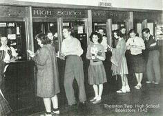 TTHS Bookstore has definitely changed since this photo...lol!