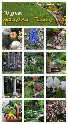 annuals perennial junk an organized clutter garden tour 2014, flowers, gardening, outdoor living, perennial, repurposing upcycling