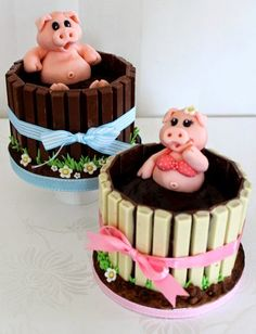 You'll love to make this fantastic Pigs in Mud cake! It's sure to delight at your next event and is perfect fro parties and special events....