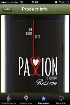 2012 Passion of Portugal Reserva (Portugal) - $8.75 750 mL (LCBO # 146449)