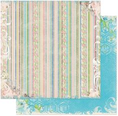 Bo Bunny - Prairie Chic Collection - 12 x 12 Double Sided Paper - Laundry at Scrapbook.com