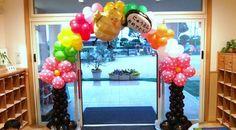 保育園入園式入場門バルーンアーチ  Balloonarch