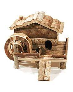 Hamsterhaus Wassermühle 41x32x31cm