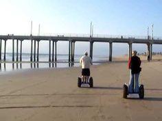 Segway Tours on the beaches of Huntington Beach #segways