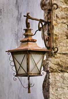 weathered-wrought-iron-street-lamp-of-medieval-europe-david-letts.jpg - weathered-wrought-iron-street-lamp-of-medieval-europe-david-letts. Old Lamps, Antique Lamps, Vintage Lamps, Europe Street, Medieval, Old Lanterns, Lantern Lamp, Old Street, Street Lamp