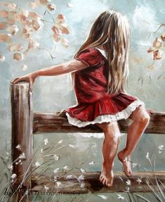 South African artist Maria Magdalena Oosthuizen paints figurative portraits emanating innocence and hope that pay tribute both to he...