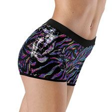 Acro Yoga /& More Premium Sparkle Star Yoga Shorts for Women 4 way Stretch Yoga Shorts for Hot Yoga Cute Color Spatter Yoga Shorts -Comfy