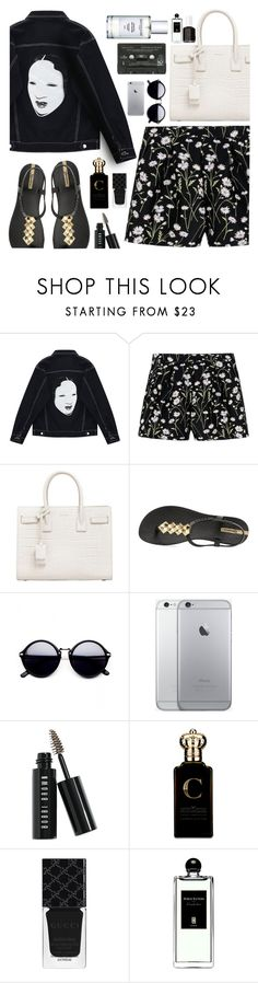 """""""Unconditional (read description)"""" by floralandmay ❤ liked on Polyvore featuring Chicnova Fashion, Giambattista Valli, Yves Saint Laurent, IPANEMA, Bobbi Brown Cosmetics, Clive Christian, Gucci, Serge Lutens and Essie"""