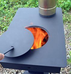 烹煮小平台 — 多功能火箭爐