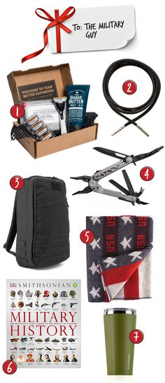 Gifts for the Military Guy