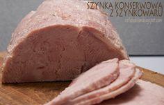 Szynka z szynkowaru - pyszna domowa wędlina z urządzenia zwanego szynkowarem. Smakuje i wygląda jak najlepsza szynka konserwowa. 100% mięsa.
