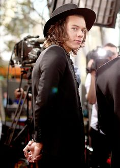 Harry at the 2014 AMAs