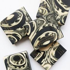 Bamboo charcoal cold  process #handmadesoap #naturalsoap
