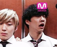 The Overdramatic Sneezing! :))) Poor Jongup and his eternal confused state.