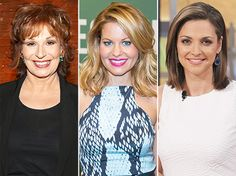 The View Adds Candace Cameron Bure, Joy Behar, Paula Faris - Us Weekly