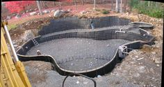 construction of a swimming pond - Google Search