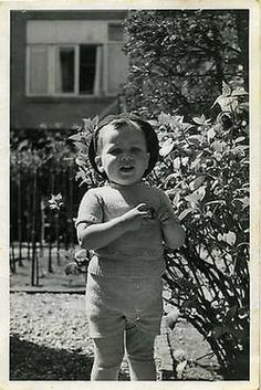 """Marianne Bernadine """"Jannie"""" Berklij photo of her taken in 1941. Marianne was sadly murdered in Sobibor on May 28, 1943 with her parents, older siblings (couple years later)"""