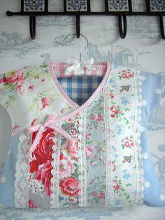 Handmade Cath Kidston Laura Ashley Fabric Peg Bag Pink Roses Lace Gingham | eBay