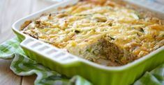Cabbage, Zucchini and Cheese Casserole (Cooked Cabbage Recipes) Yellow Squash Casserole, Zucchini Casserole, Cabbage Casserole, Zucchini Pie, Chicken Casserole, Casserole Recipes, Onion Casserole, Zucchini Breakfast, Zucchini Gratin