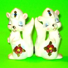 Flirty Skunks Salt & Pepper Shakers