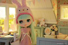 Aqua Attic diorama, by Keera - Nerea Pozo  #dollhouse #doll #blythe #diorama