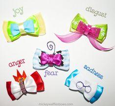Arcos del pelo del revés Mini serie por MickeyWaffles en Etsy