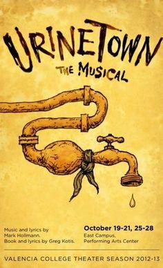 Urinetown. Valencia College Theatre. 2012