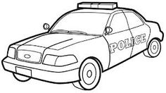 law enforcement coloring pages - photo#6