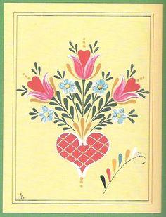 step-by-step Folk ART Flowers - senia One Stroke - Picasa Web Albums
