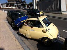 Isetta Taxi aus der Hansestadt Bremen.