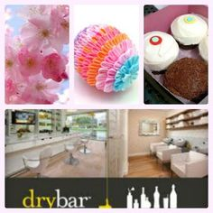 DC Vacation + drybar + Sprinkles cupcakes