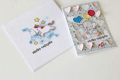 Yka handmade: Hra s pozadím a razítkami